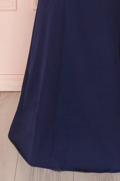 Ovasta Navy | Maxi Mermaid Dress