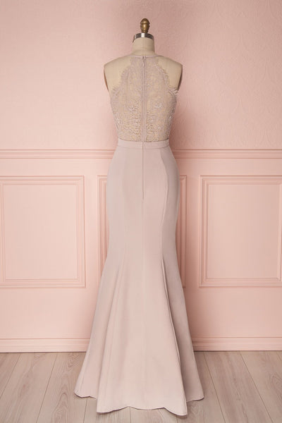 Ovasta Taupe |  Mermaid Dress