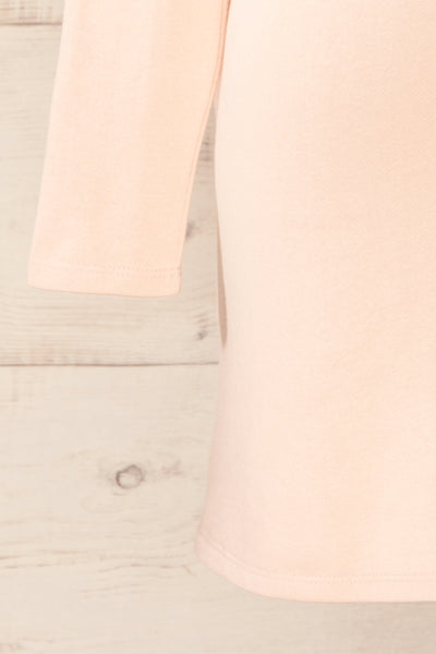 Pasly Blush Long Sleeve Cotton Dress | La petite garçonne bottom
