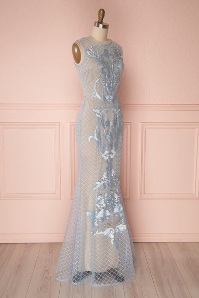 Philothé Bleu | Mermaid Dress