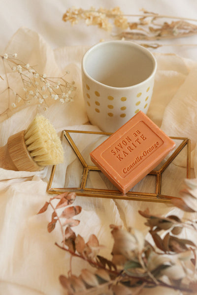 Savon au Karité Canelle-Orange Soap