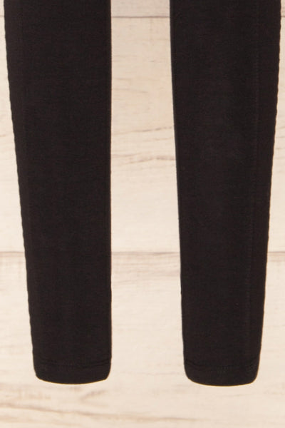 Putignano Black High-Waisted Leggings | La petite garçonne bottom