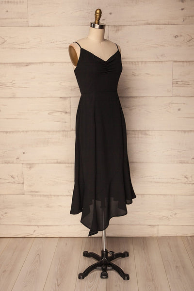 Pyla Nero | Black Asymmetrical Dress
