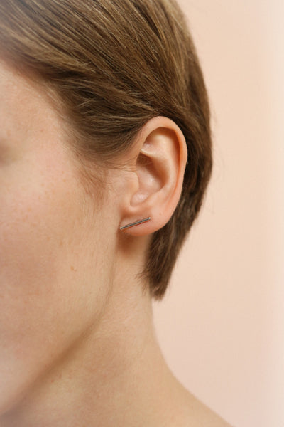 Quare Argent | Stud Earrings