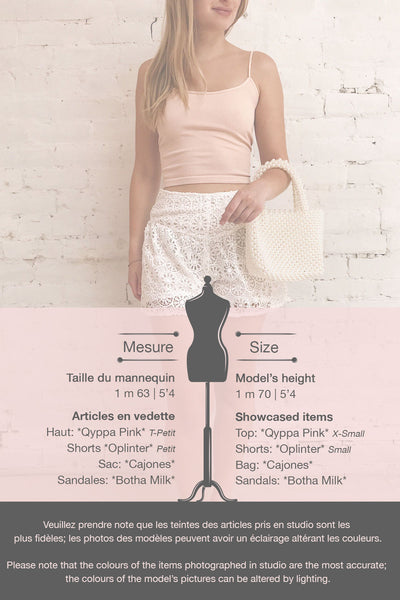 Qyppa Pink Fitted Crossed Back Crop Top | La petite garçonne template