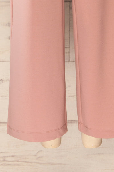 Radzymin Pink Wide Leg High-Waisted Pants | La petite garçonne bottom