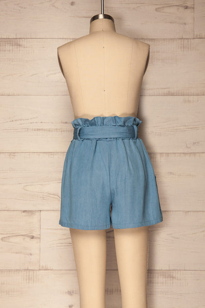 Rebelos Light Blue Lightweight Shorts | La Petite Garçonne