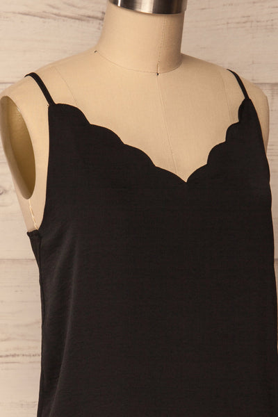 Revel Black | Silky Camisole