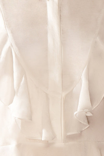 Rose-Abelle - Romantic frilly white blouse