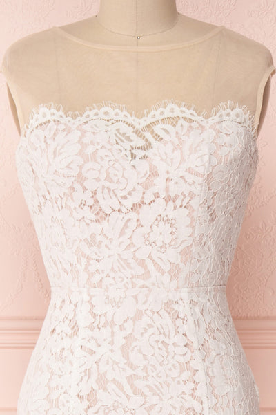 Sahara | White Lace Bridal Dress