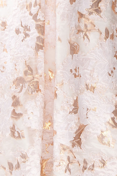 Samilla | Cream & Rose Gold Dress
