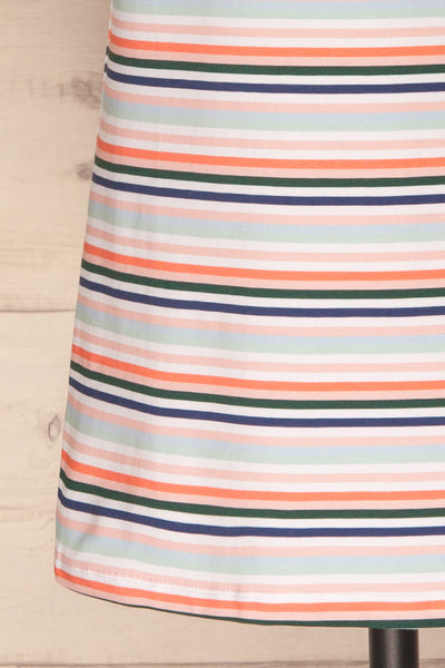 Sammia Striped T-Shirt Dress | La petite garçonne bottom