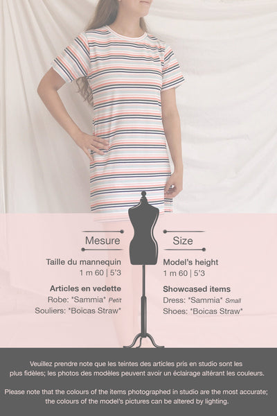 Sammia Striped T-Shirt Dress | La petite garçonne template