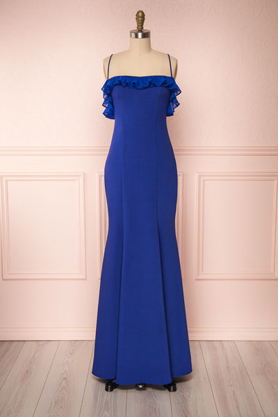 Sasha Royal Blue Mermaid Maxi Dress | Boudoir 1861