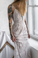 Selyka Tendresse Ivory Lace Mermaid Bridal Dress | Boudoir 1861