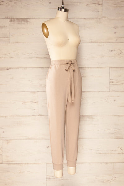 Set Muszyna Beige Loungewear Set | La petite garçonne side view