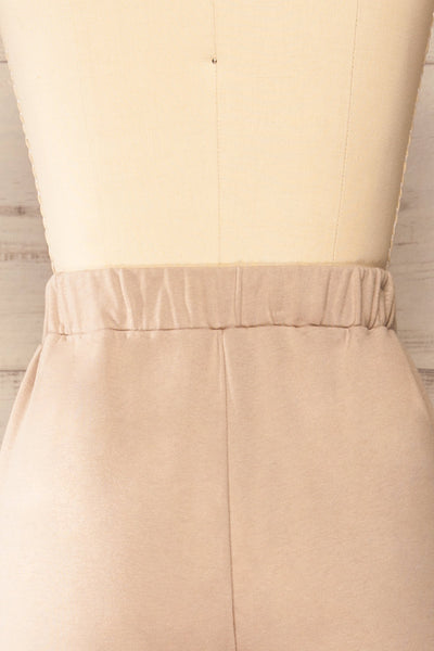 Set Muszyna Beige Loungewear Set | La petite garçonne back close-up