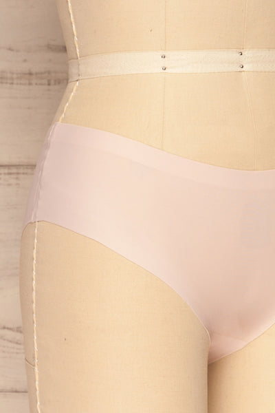 Set Pamplona Pack of 3 Seamless Undies | La petite garçonne beige side close up