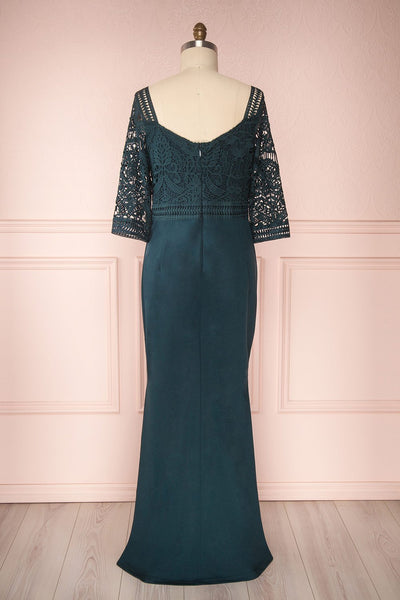 Shafie Emerald | Robe Verte Taile Plus