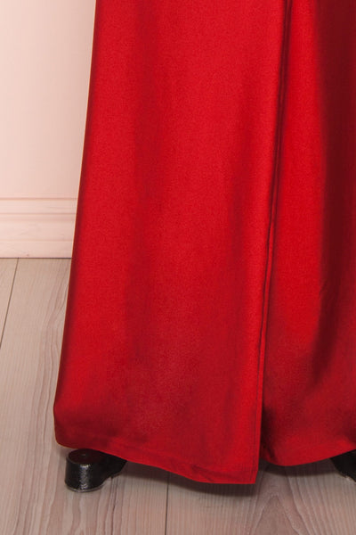 Shalmika | Red Satin Dress