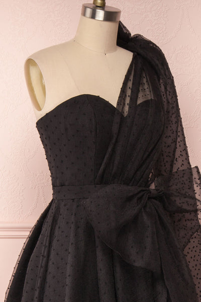 Shanley Black | Bustier Maxi Dress