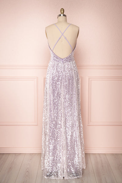 Shayana Lilas | Lilac Sequin Gown