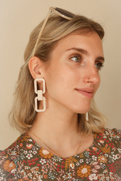 Sparti | Pendant Earrings