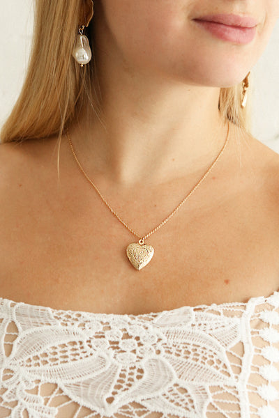 Suffero Doré | Golden Heart Locket