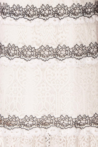 Taurua | White Lace Dress
