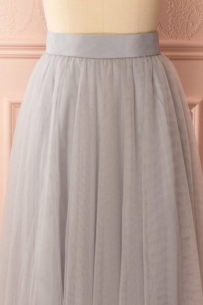 Télia Brume Light Grey Tulle Skirt | Boudoir 1861 2