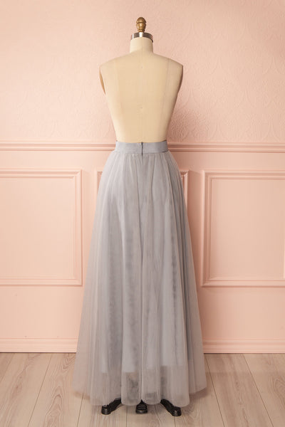 Télia Brume Light Grey Tulle Skirt | Boudoir 1861 5