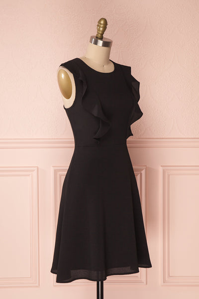 Téora Orage Black A-Line Summer Dress | Boutique 1861