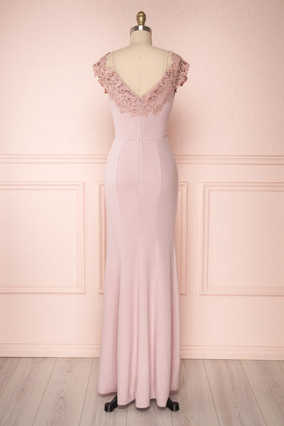 Tiziana Pink | Lilac Mermaid Dress