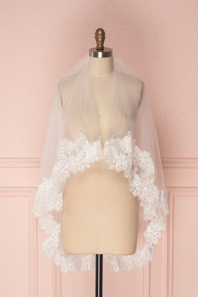 Tofieldie | White Wedding Veil