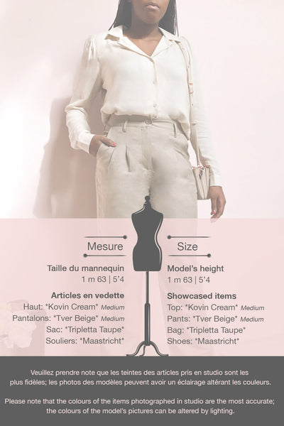 Tver Beige High-Waisted Straight Leg Pants | La petite garçonne template