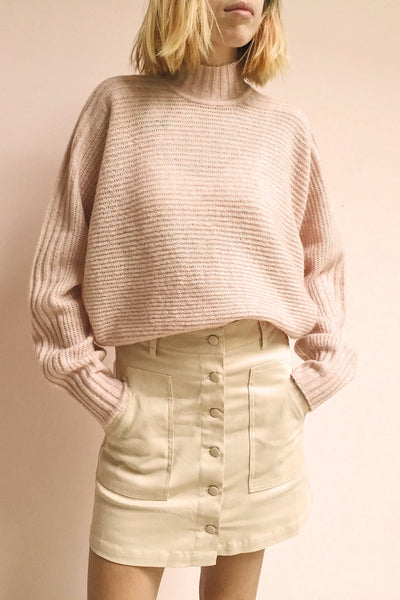 Alijo Beige | Mini Skirt