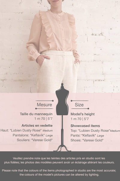 Lubien Dusty Rose Pink Long Sleeved Shirt | Boutique 1861 template