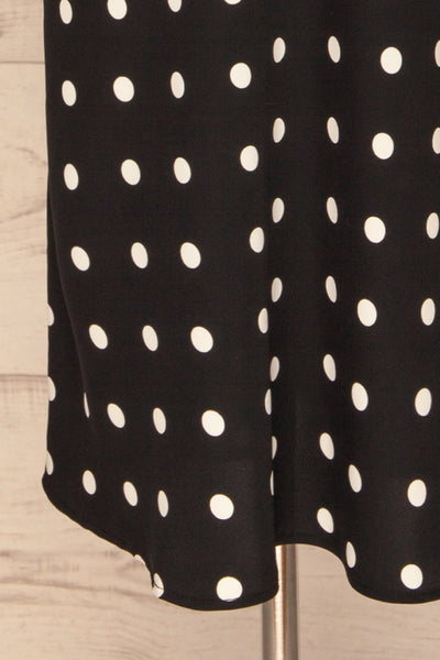 Trijntje Black & White Polkadot Dress | La petite garçonne bottom
