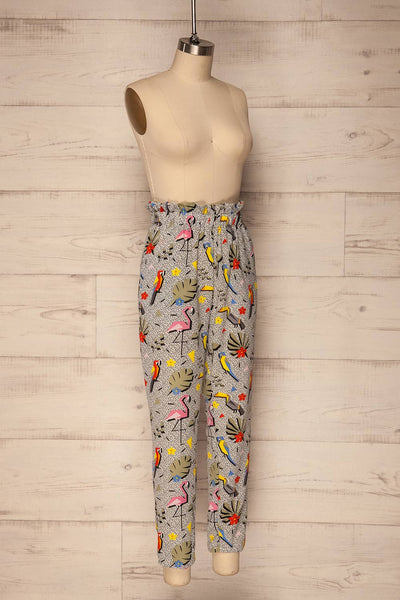 Tuizelo Colourful High Waisted Pants | La Petite Garçonne 4