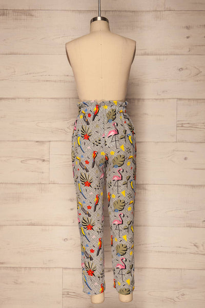 Tuizelo Colourful High Waisted Pants | La Petite Garçonne 6
