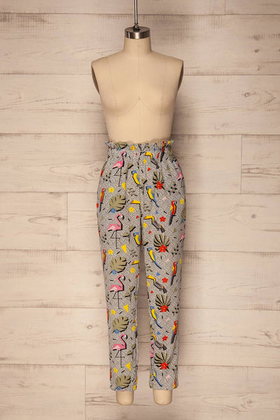 Tuizelo Colourful High Waisted Pants | La Petite Garçonne 1