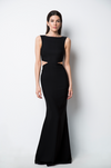 Vallata Black Cut-Outs Mermaid Gown | La Petite Garçonne model