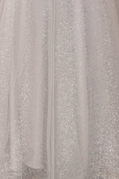 Vatrouchka Grey Tulle & Crystal Gown | Robe fabric | Boutique 1861