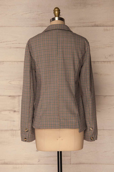 Landéan Colourful Plaid Double Breasted Jacket | La Petite Garçonne 7
