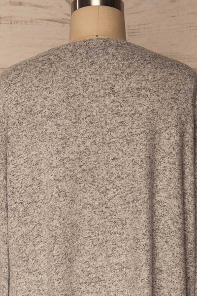 Wail Stone Gray Soft Knit Sweater Top | La Petite Garçonne 6