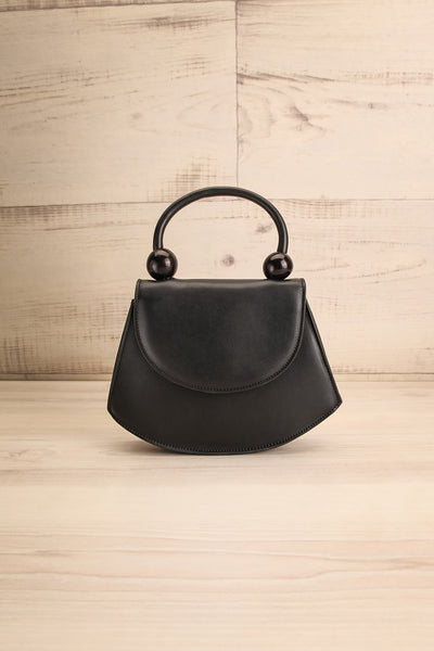 Aarhus Black Faux-Leather Handbag | Boutique 1861