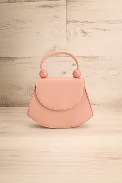 Aarhus Pink Faux-Leather Handbag | Boutique 1861