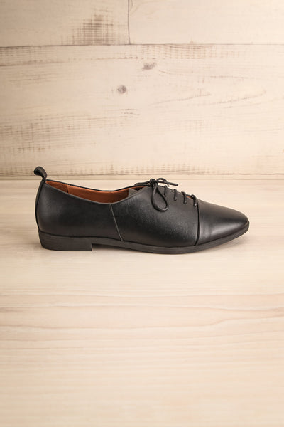 Adesus Night Black Leather Lace-Up Shoes | La Petite Garçonne Chpt. 2 5