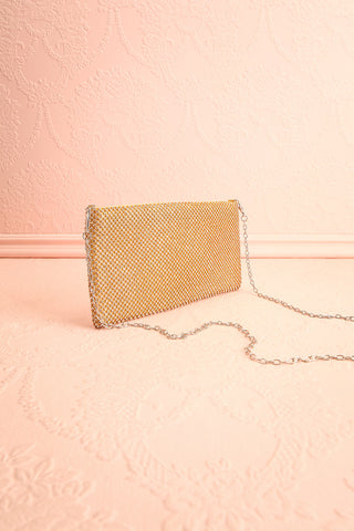 Agave Gold Crystal Clutch | Sac à Main | Boutique 1861 side view