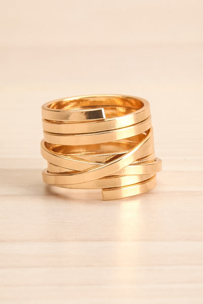 Alacritas Gold Fashion Rings | Bagues | La Petite Garçonne small close-up